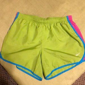 Girls size XL Nike dri-fit shorts